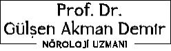 Prof. Dr. Gülşen Akman Demir | Nörolog Logo
